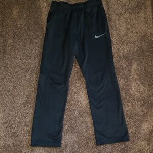 NIKE Black Fleece Lined Pants Boy XL